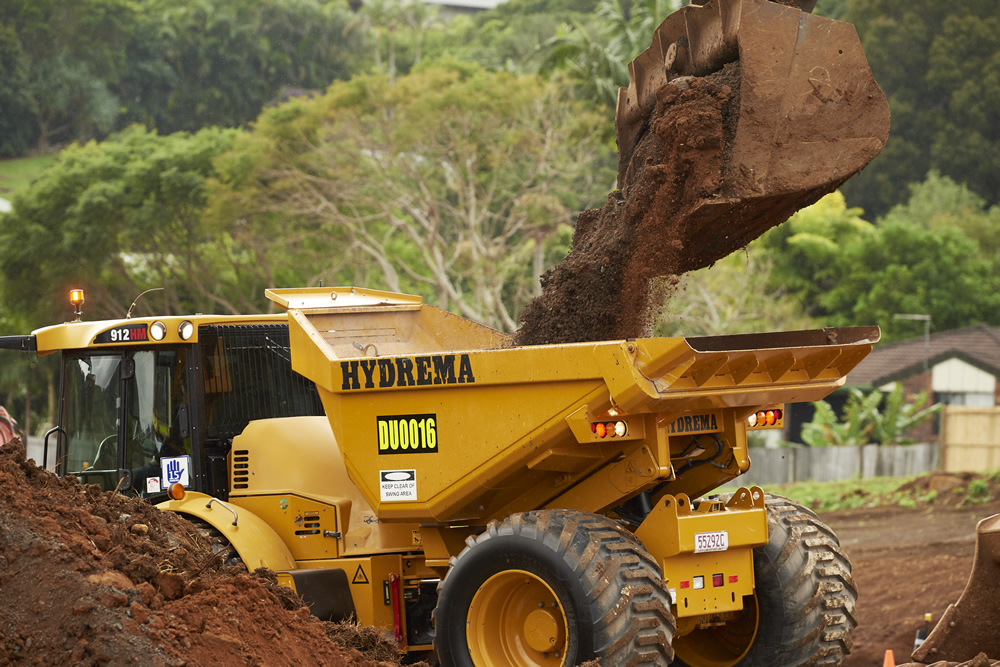 Earthmoving Equipment Magazine Test Drive The Hydrema 912E Range